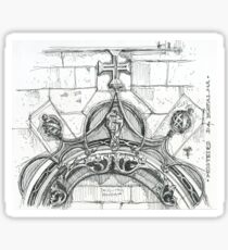Mosteiro da Batalha sketch Sticker