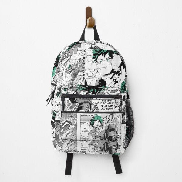My Hero Academia Deku Manga Collage  Backpack
