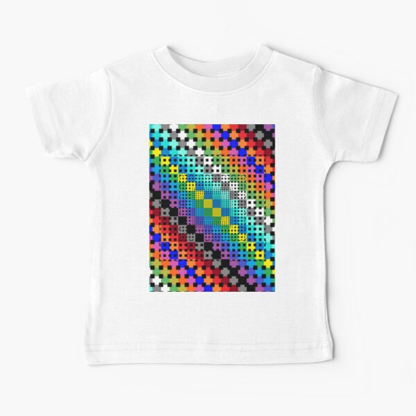 Trippy Colors Baby T-Shirt