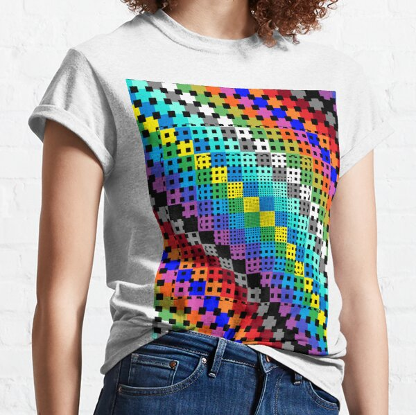 Trippy Colors Classic T-Shirt