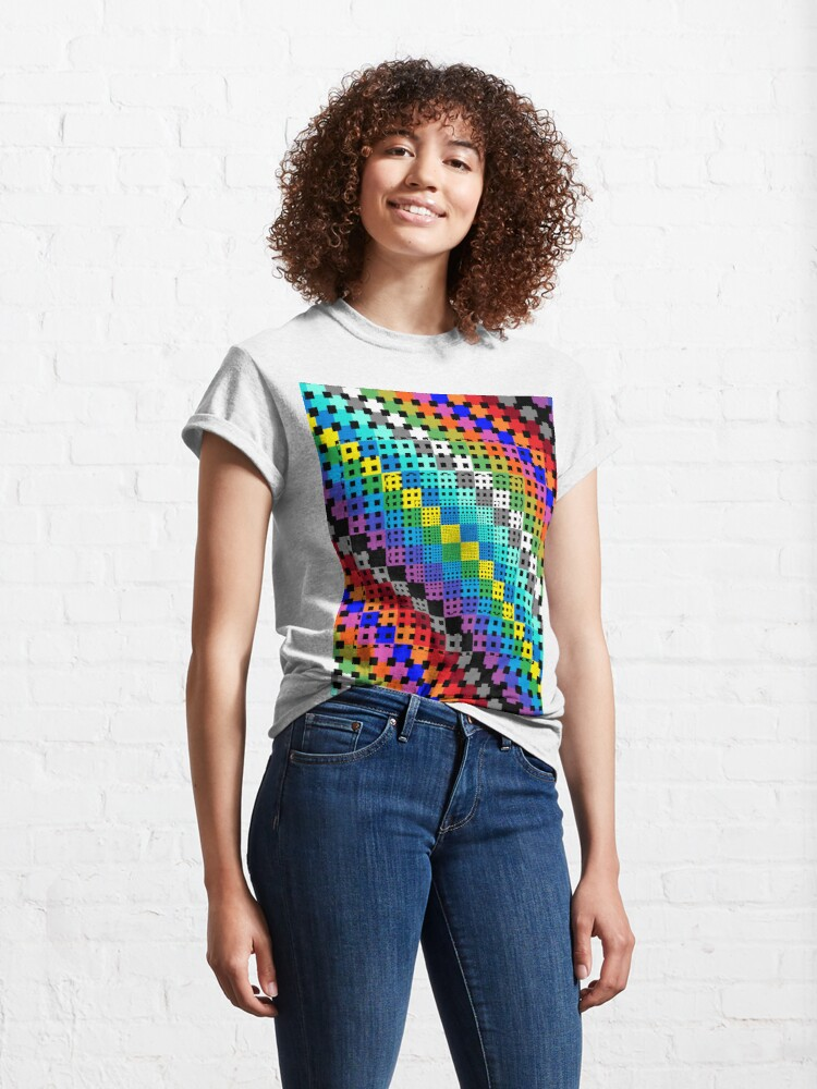 Alternate view of Trippy Colors Classic T-Shirt