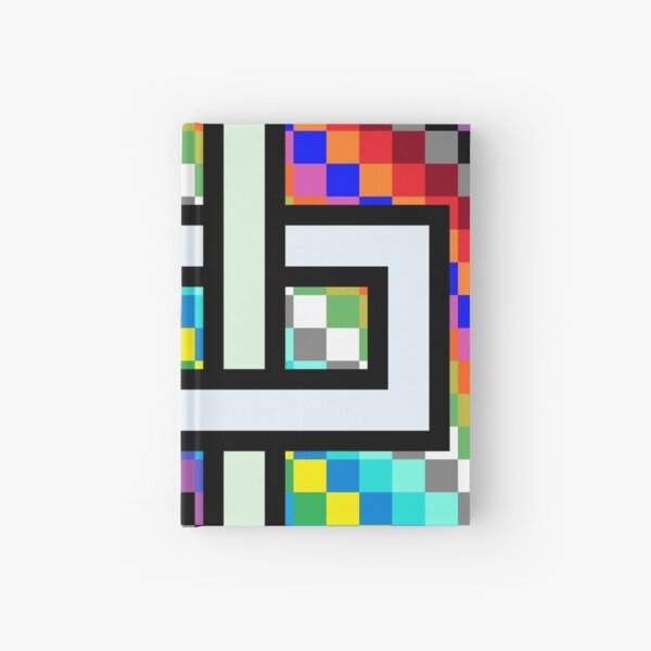 Trippy Cheese Colors Hardcover Journal