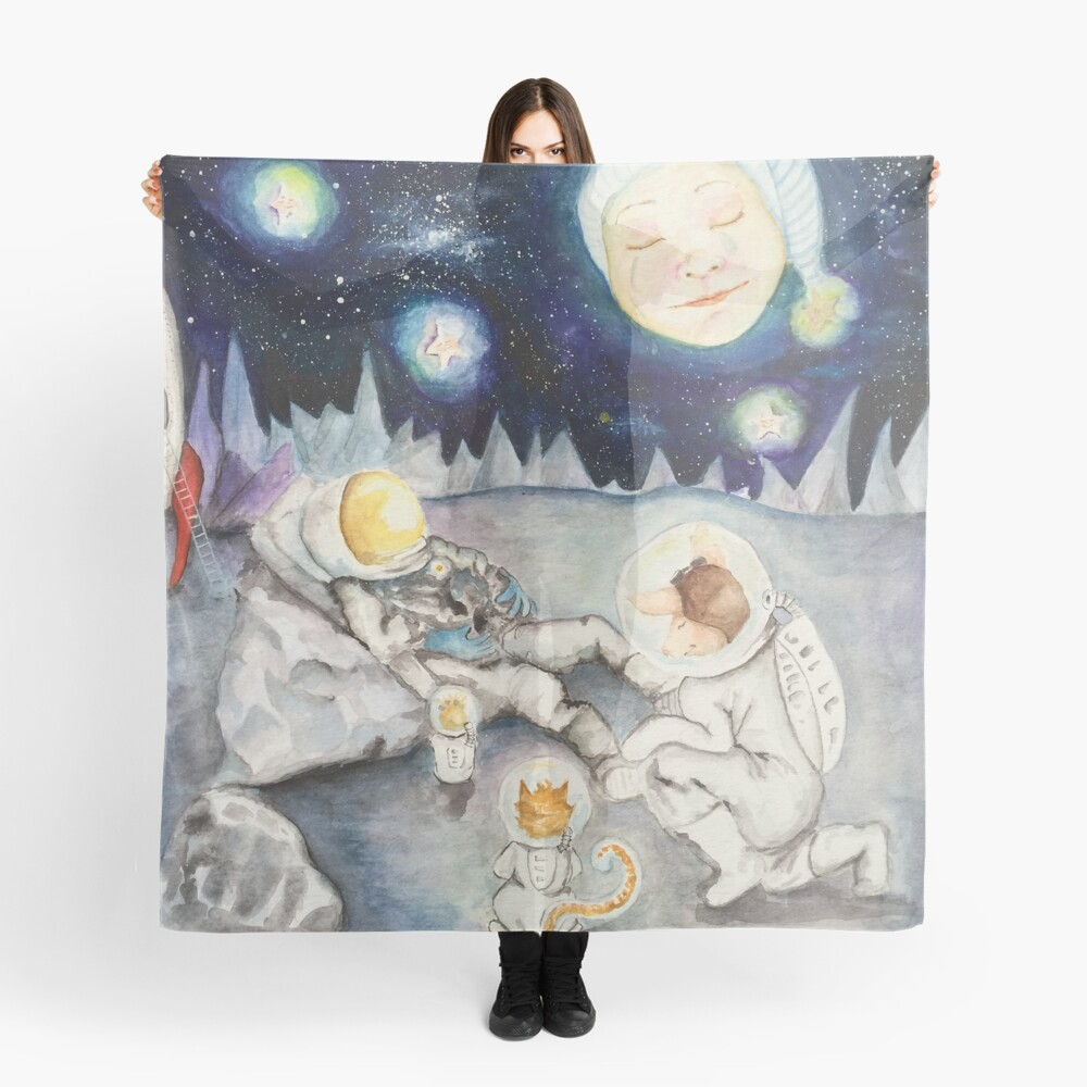 The finding of Major Tom  Scarf Front