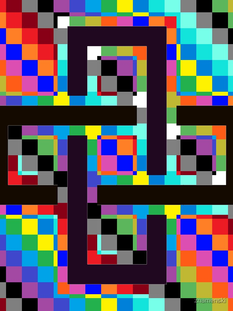 Trippy Vertical Colors by znamenski