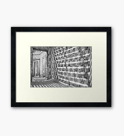 Patterns and more Patterns Framed Print