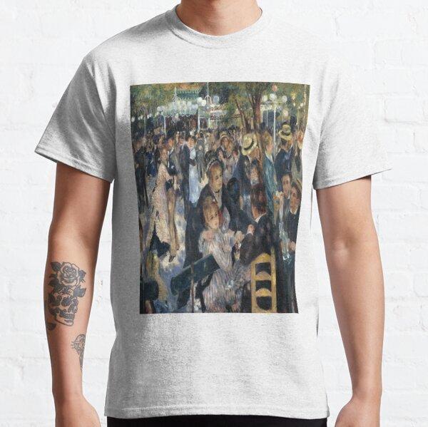 Bal du moulin de la Galette( Dance at Le moulin de la Galette)-Pierre-Auguste Renoir Classic T-Shirt