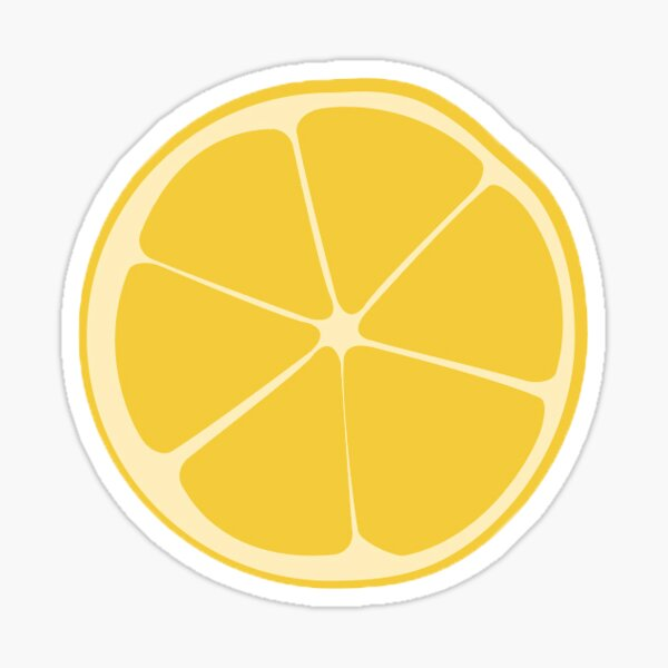 The Lemon Wedge Sticker