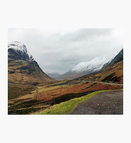 Glencoe Mountains, Scotland Photographic Print