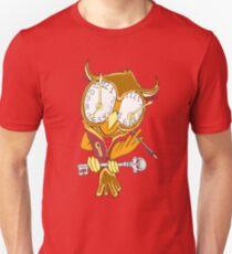 Whimsical Steampunk Owl Unisex T-Shirt