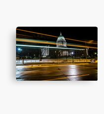 Capital streaks Canvas Print