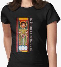 Äthiopien Tailliertes T-Shirt