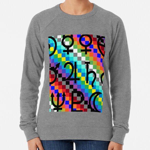 Trippy Vertical Colors Lightweight Sweatshirt