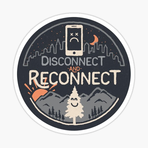 Reconnect Sticker