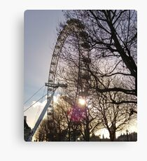 28 Hours in London Canvas Print