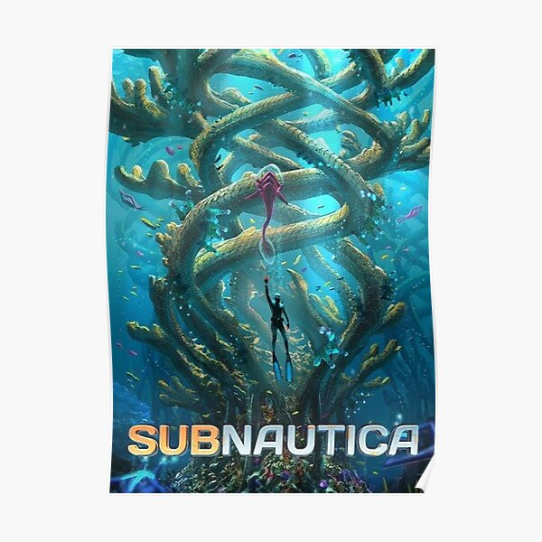 Subnautica Poster Poster