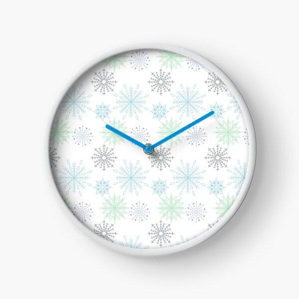 First Snow Clock
