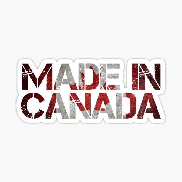 Canada Canadian Flag Sticker