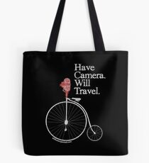 Have Camera Will Travel T-shirts & Gifts Tote Bag