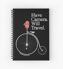 Have Camera Will Travel T-shirts & Gifts Spiral Notebook