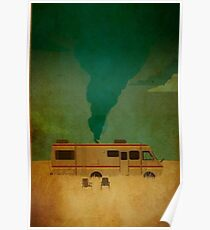 breaking bad bus Poster