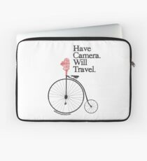 Have Camera Will Travel Alt Version T-shirts & Gifts Laptop Sleeve