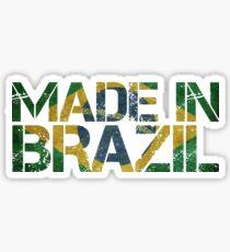 Brazil Brazilian Flag Sticker