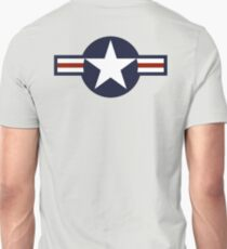 AIR FORCE, AMERICAN, USAF, Roundel, United States Air Force, aircraft, United States Navy, United States Marine Corps T-Shirt
