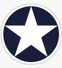 AMERICAN, WAR, Roundel, United States Air Force, Aircraft operated by the United States Navy and United States Marine Corps Sticker