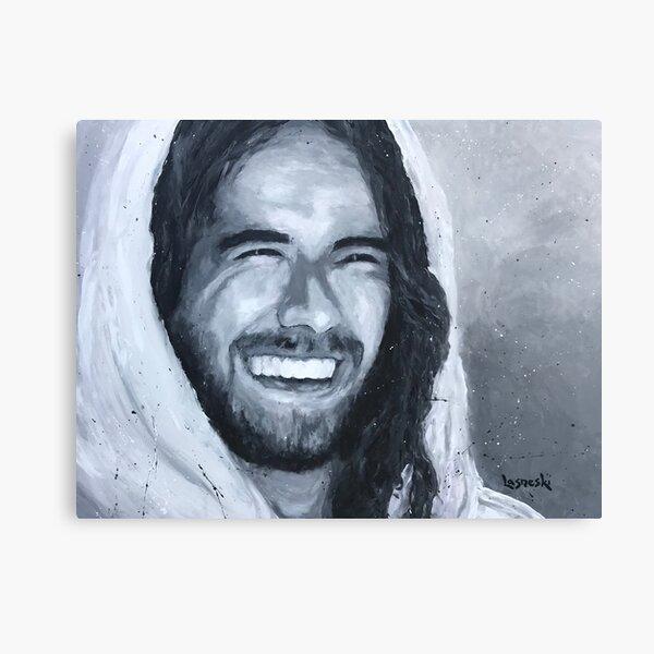 Jesus Smiling #1 Canvas Print