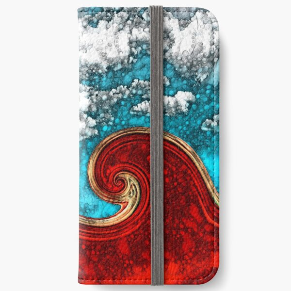 Red Tide  iPhone Wallet