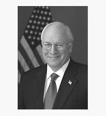 Dick Cheney Photographic Print