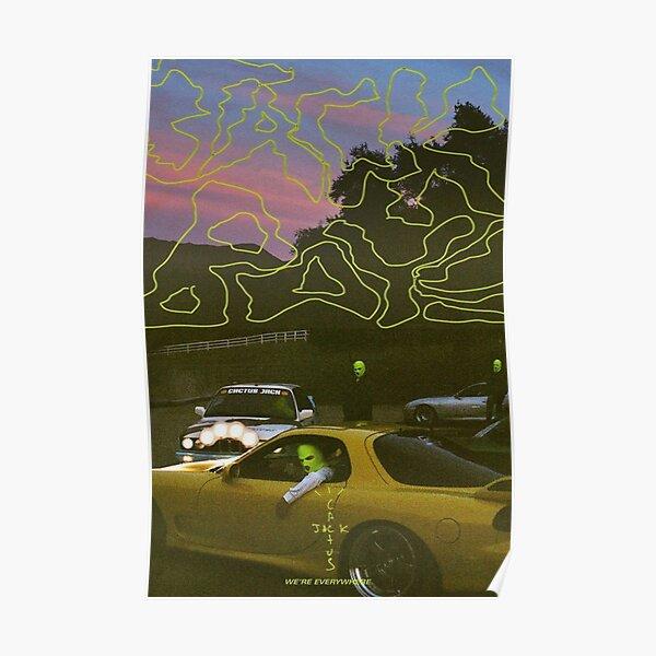 Prise de cactus Poster