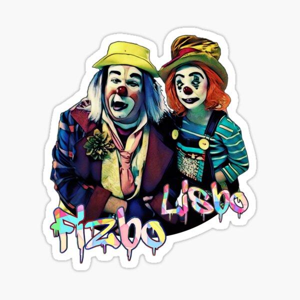 Fizbo and Lizbo Sticker