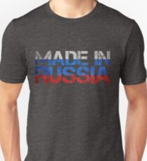 Russia Russian Flag T-Shirt