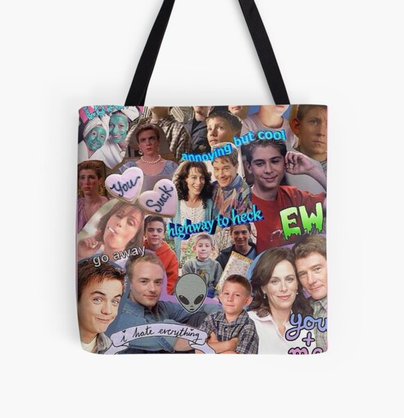 Malcolm In The Middle  All Over Print Tote Bag