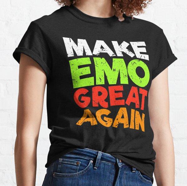 Kinder Jungen Mädchen Totenkopf Gothic Emo T-Shirt