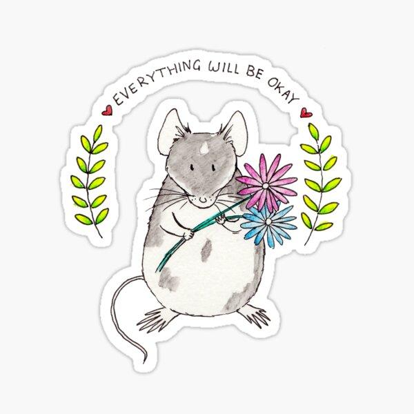 Everything will be Okay Sticker