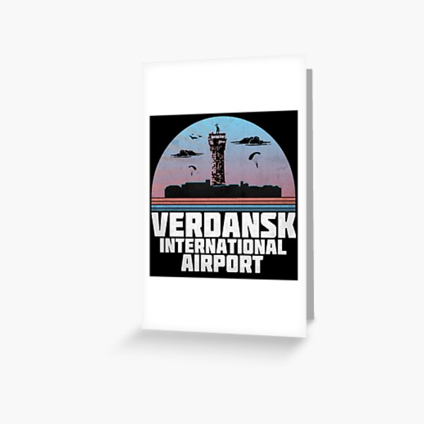 Verdansk International Airport Greeting Card