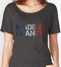 France French Flag Women's Relaxed Fit T-Shirt