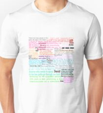 The Office Quotes Unisex T-Shirt