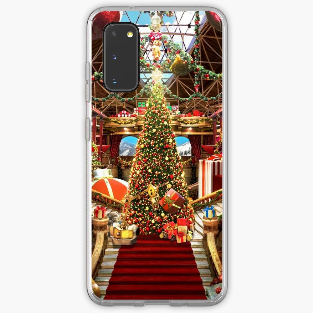 Santas Workshop - Christmas Holiday Art Case & Skin for Samsung Galaxy