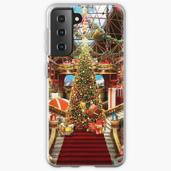 Santas Workshop - Christmas Holiday Art Samsung Galaxy Soft Case