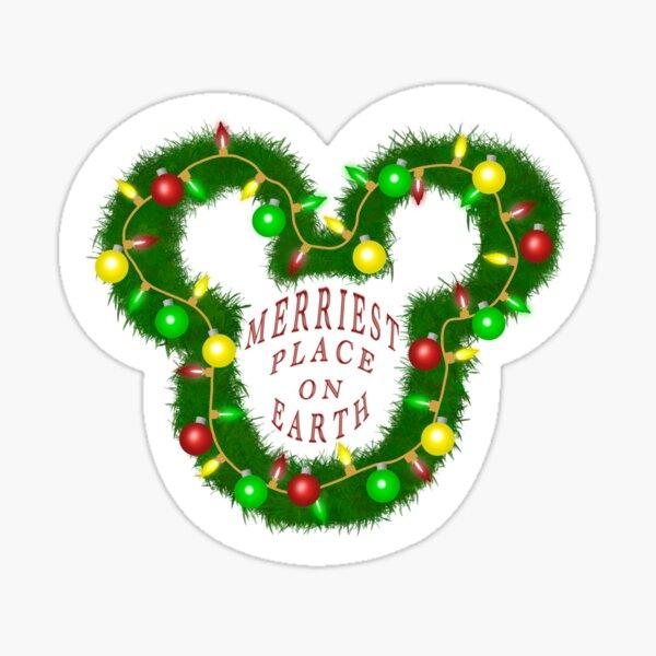 Merriest Christmas Ever Sticker Sticker