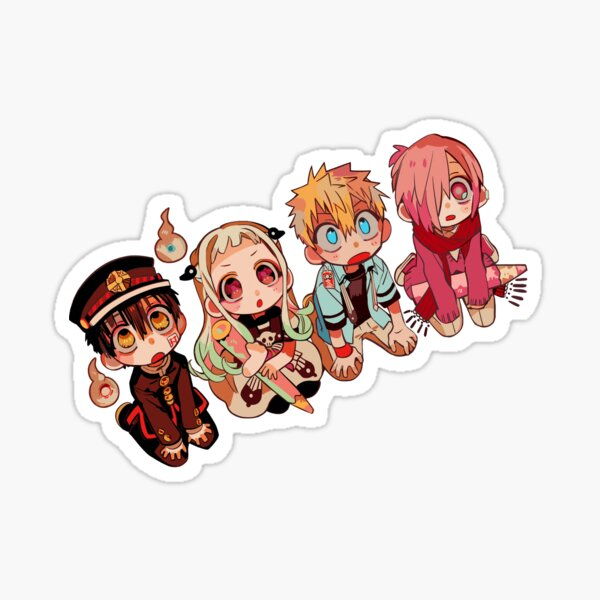 toilet cleaning squad but s i t Sticker
