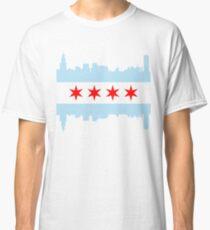 Chicago Flag Skyline Classic T-Shirt