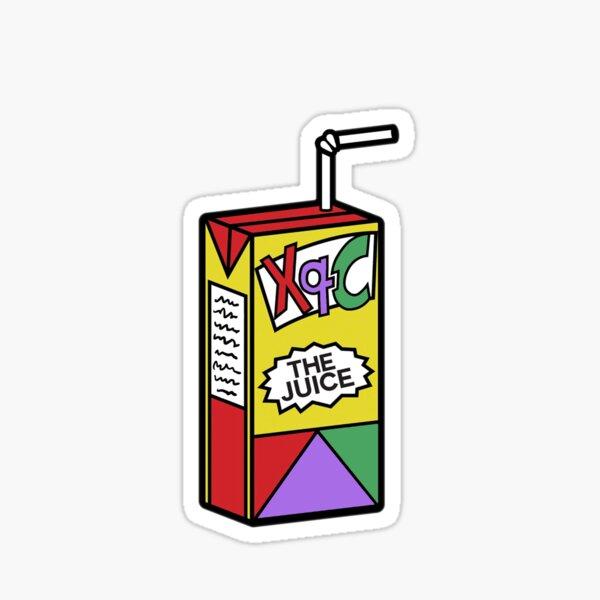 XQC, xQc, xQcOW, the juice, gamer Sticker