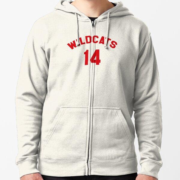 High School Musical: Wildcats Red Veste zippée à capuche