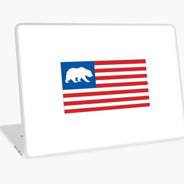 California. Laptop Skin