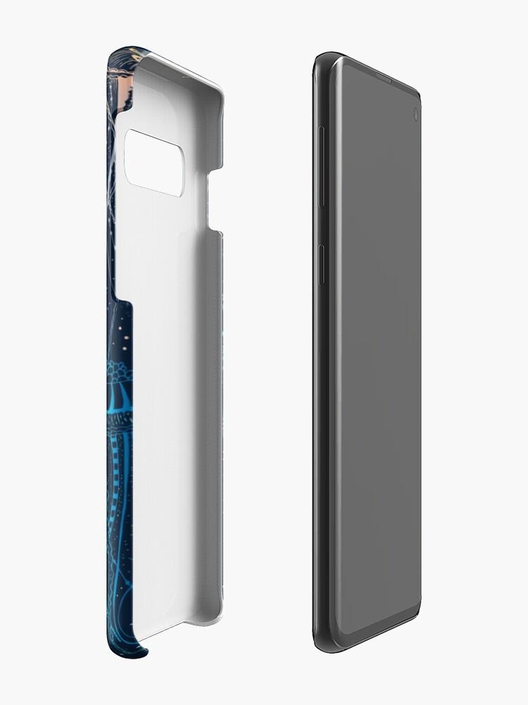 Alternate view of Jellyfish Case & Skin for Samsung Galaxy