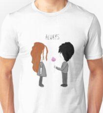 """Always."" T-Shirt"